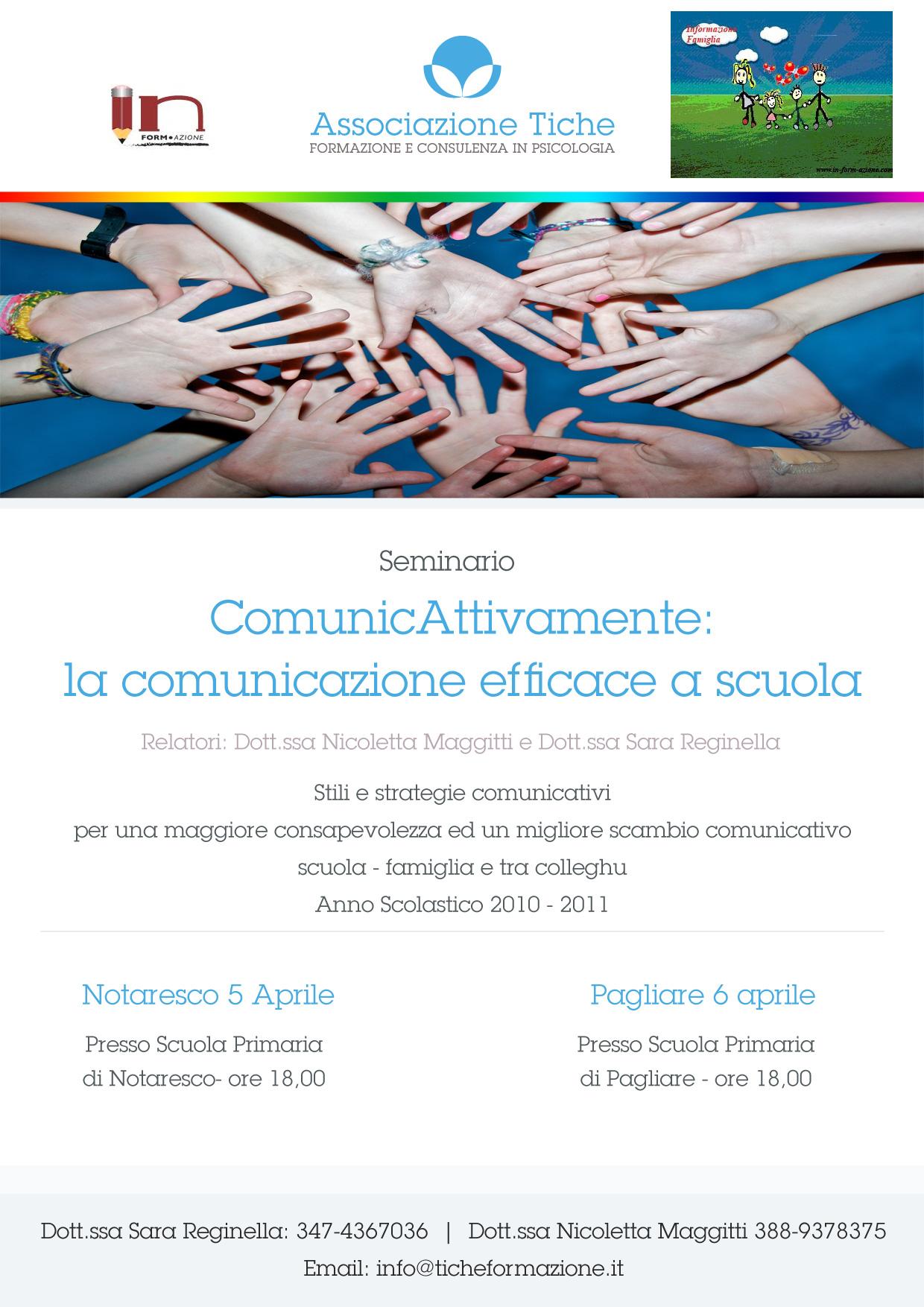ComunicAttivamente: la comunicazione efficace a scuola