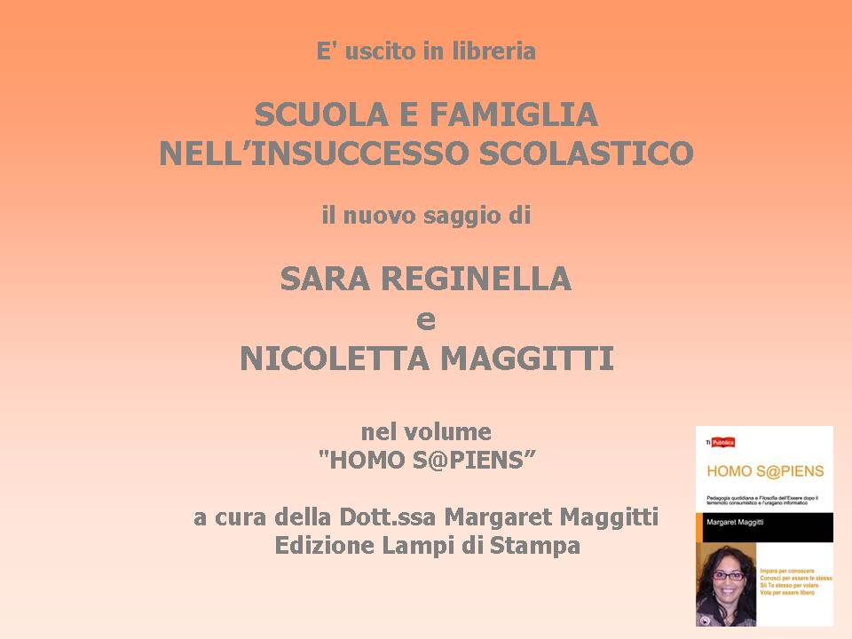 In libreria il nuovo saggio di Sara Reginella e Nicoletta Maggitti