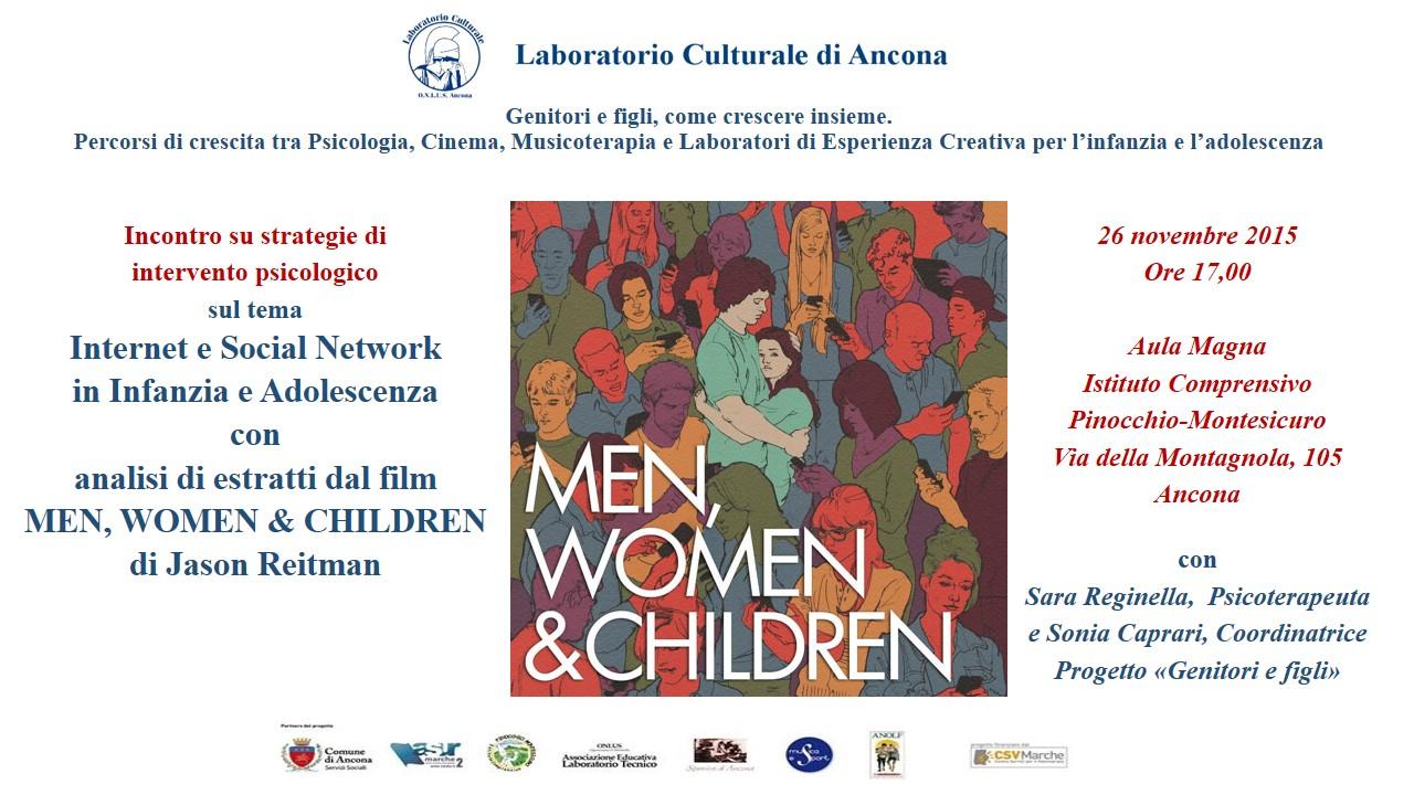 """Cineforum e Dibattito su """"Internet e Social Network"""" con Sara Reginella e SoniaCaprari"""
