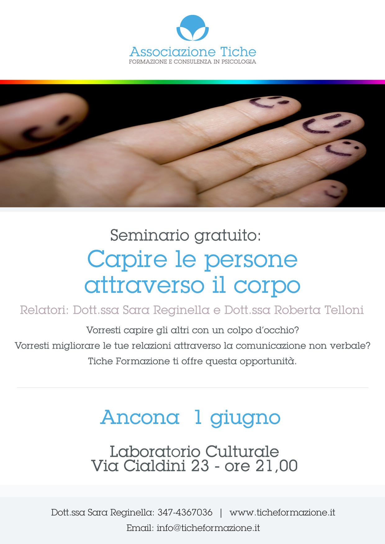 Ad Ancona: Capire le persone attraverso il corpo