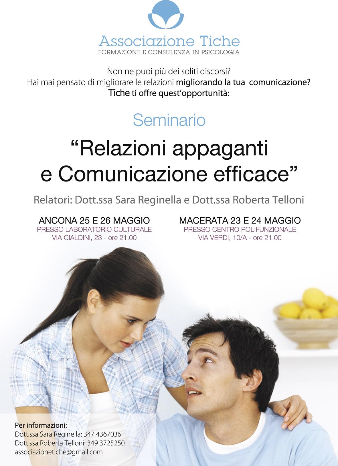 Relazioni appaganti e comunicazione efficace