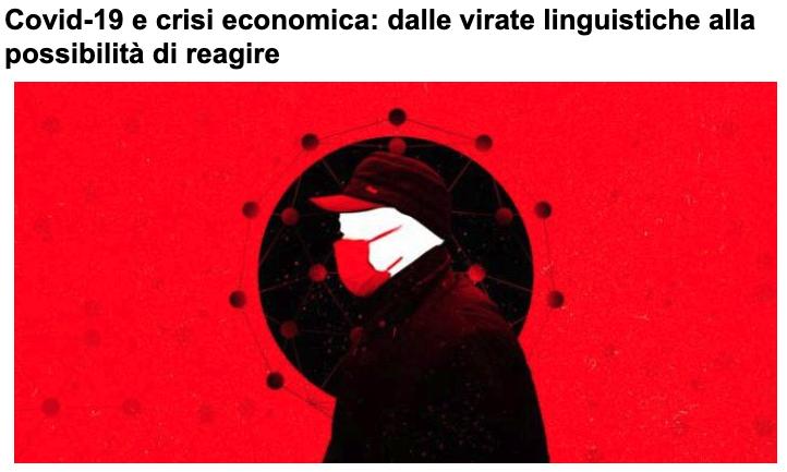 Manipolazioni linguistiche su  covid e crisi economica