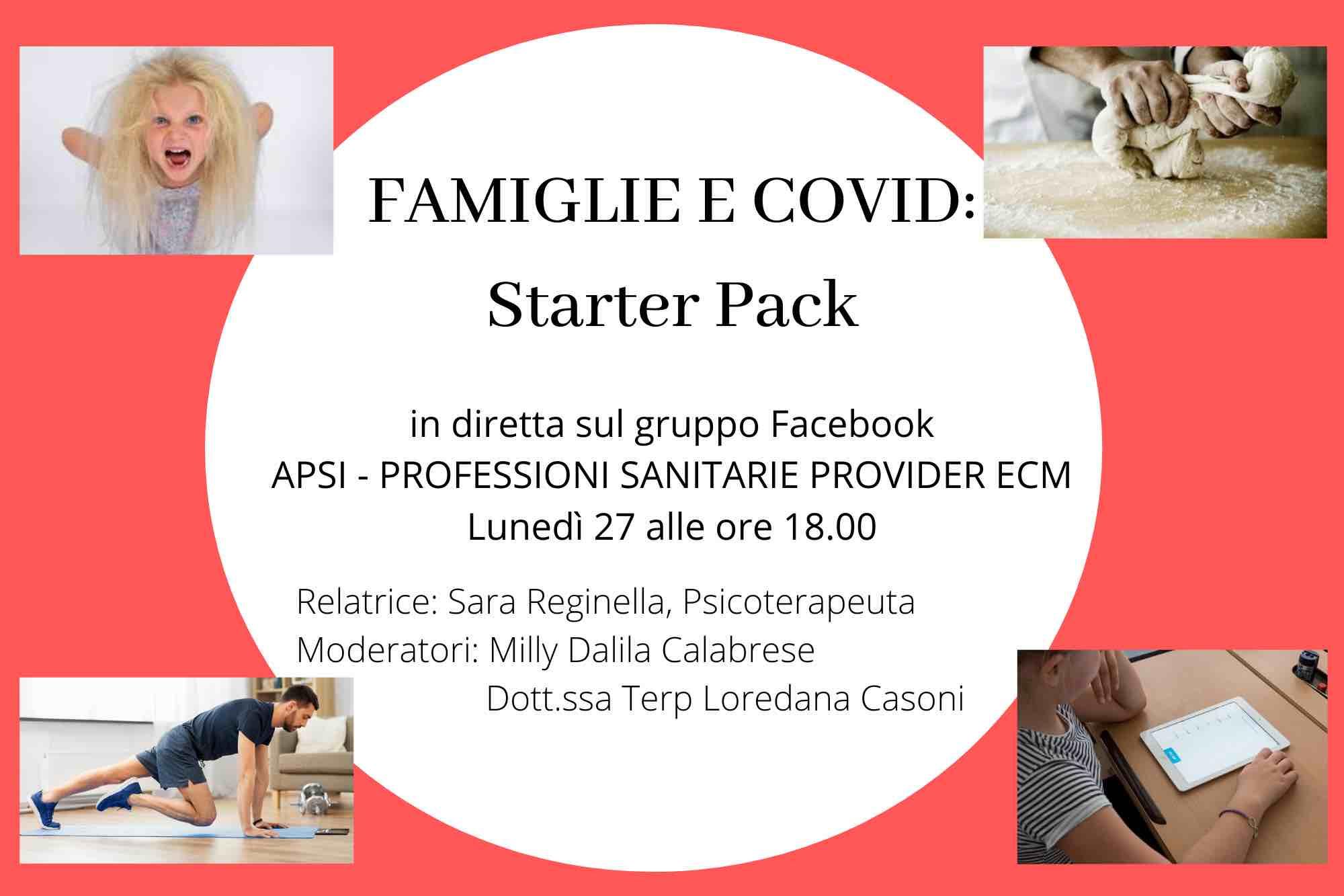 Famiglie e covid: starter pack