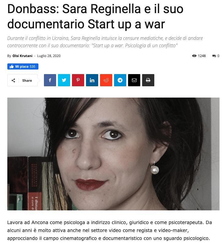 Intervista alla dott.ssa Reginella per Periodico Daily